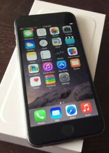 iPhone **6+PLUS --64GB * BELL/VIRGN*MINT*BLACK/GRAY*IN BOx*WRNTY