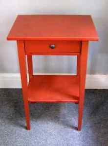 Wanted : Red Ikea Hemnes Bedside Table Homebush Strathfield Area Preview