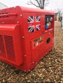 Parkinson's diesel generator