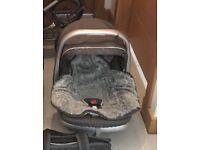 Emmaljunga infant car seat