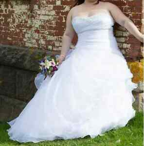 Wedding Dress - Size 22 REDUCED