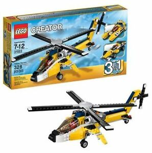 Lego creator 31023 - Les bolides jaunes - Yellow Racers COMPLET