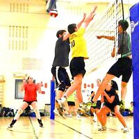 Co-ed Indoor Volleyball League
