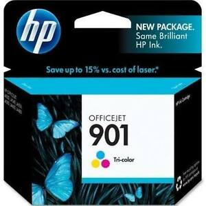NEW unopened Genuine HP 901 XL Ink Cartridges