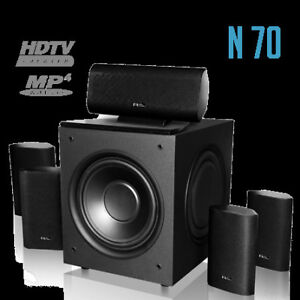 NEW IN BOX Nolyn Acoustics N70 - 5.1 Home Theatre System