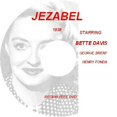JEZEBEL BETTE DAVIS,HENRY FONDA,GEORGE BRENT DVD