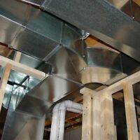 Complete HVAC Installation (Ductwork, Furnace, AC, Gas etc.)