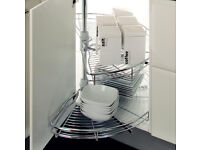Kitchen Stainless steel right hand Carousel