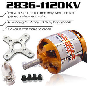 New-RC-Timer-BC2836-7-1120KV-Outrunner-Brushless-Motor