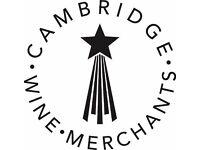 Cambridge Wine Merchants - Retails staff & Bar Staff