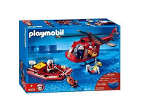 Playmobil fire search and rescue set