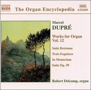 Works for Organ Vol. 12 CD NEW