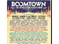 Boomtown tickets