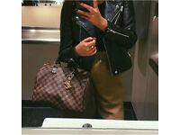 Louis Vuitton gold logo key ring brand new LV in box keyring bag chain