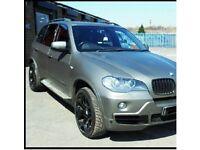 Wrapped BMW X5 3.0D Matte Grey