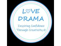 Love Drama Musselburgh Weekly Classes 2021