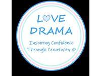 Love Drama After School Club - Woodburn Primary School 2021