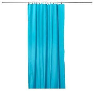 Ikea eggegrund shower curtain turquoise size 71x71 fast for Ikea tracking usa