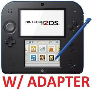 REFURB NINTENDO 2DS SYSTEM - 108603778 - ELECTRIC BLUE - HANDHELD CONSOLE SYSTEM - VIDEO GAMES
