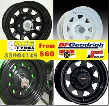 Sunraysia Wheels Steel Rims Steel Wheels From $60 Tingalpa Brisbane South East Preview