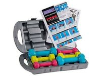 York Fitness Dumbbell set (hand weights)