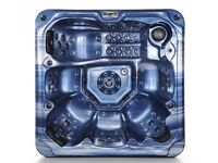 Destock UK company, Hot Tub (Jupiter) , SPA, Jacuzzi, 100 stainless steel jets, 6 persons
