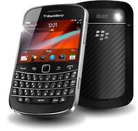 Mint 9900 bold phone with sd card + 2 batteries
