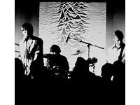 Tight drummer wanted for JOY DIVISION tribute band