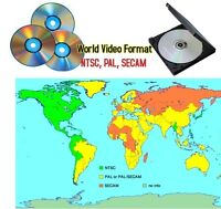 Conversion de DVD PAL-SECAM  (Europe) à NTSC (Canada-USA)