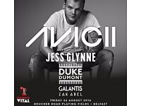 Avicii 2 Tickets T Vital £180 For The Pair