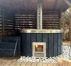 Unieke Hot tub hottub aluminium hottub hout gestookt hottubs