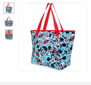 MATERNITY BEIGE SNOOGLE PILLOW AND NEW DISNEY MICKEY TOTE BAG