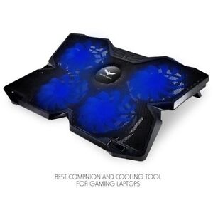 "GAMERS! 15.6""-17"" Laptop Cooling Pad - Portable NEW!"