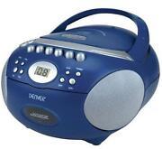 CD Player Blau