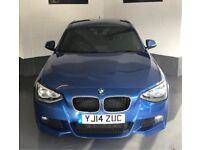 BMW Msport 116D 5dr 14plate