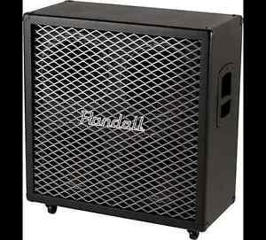 Cabinet de guitare Randall RT412CX