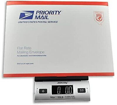 Digital Postal Scale 50 Lbs Shipping Package Letter Electronic Usps Mail Postage