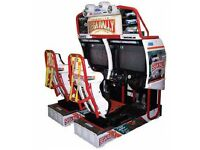 sega rally 2 arcade game