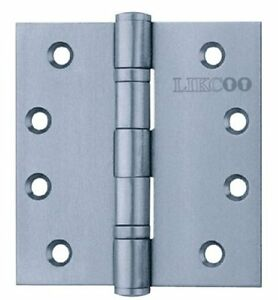 UL Stainless Steel Hinges 3 Pieces