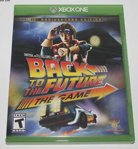 Back To The Future Xbox One Game
