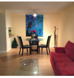 Two bedroom / One bath condo heart of downtown / centretown