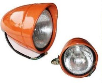 5118924 Pair Of Headlights Tractor Fiat Gold Value 540 640 355c 605c Etc