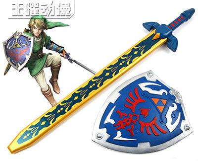 The Legend of Zelda Link cosplay Kostüm Schwert Sword Schild Shield Costume