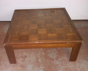 Square Coffee Table - $50