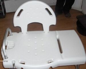 invacare bath transfer bench $60 firm