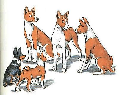 Dog Book Basenji Dog Christmas Story CANDLE First Edition