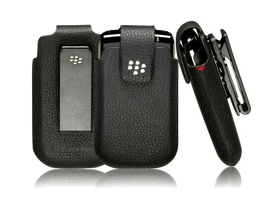 Original BlackBerry Koskin Leather Swivel Holster Case for Bold 9700 9780 8520