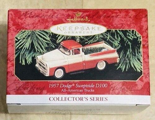Hallmark Keepsake 1957 Dodge Sweptside D-100 # 5 All-American Trucks Series