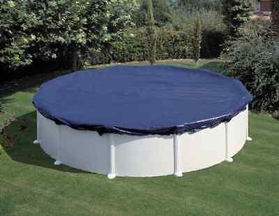 Telo Gre copertura invernale per piscine rotonde circolari con diametro 640 cm