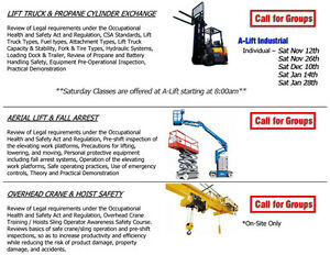 Training - Lift Truck / Forklift Operator Windsor Region Ontario image 2